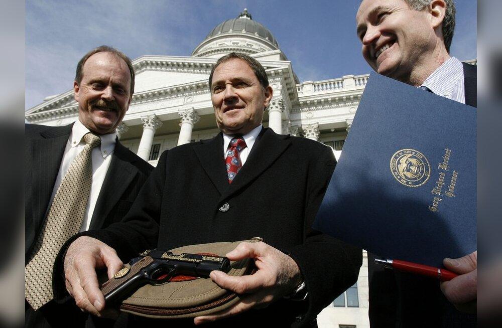 Utah' osariik sai endale uue sümboli - ametliku tulirelva