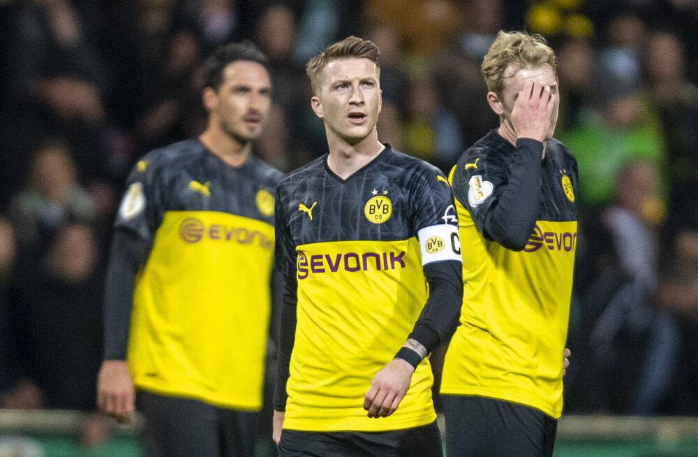Dortmundi Borussia tähe jaoks võib hooaeg läbi olla