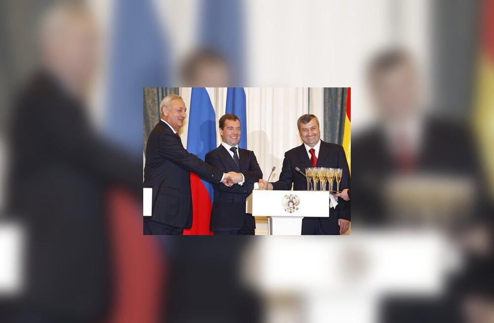 VF sõlmis L-Osseetia ja Abhaasiaga koostöölepingu