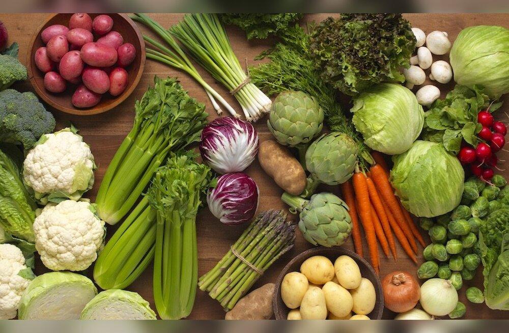Õige toit teeb terveks: köögiviljad tagavad parema elukvaliteedi