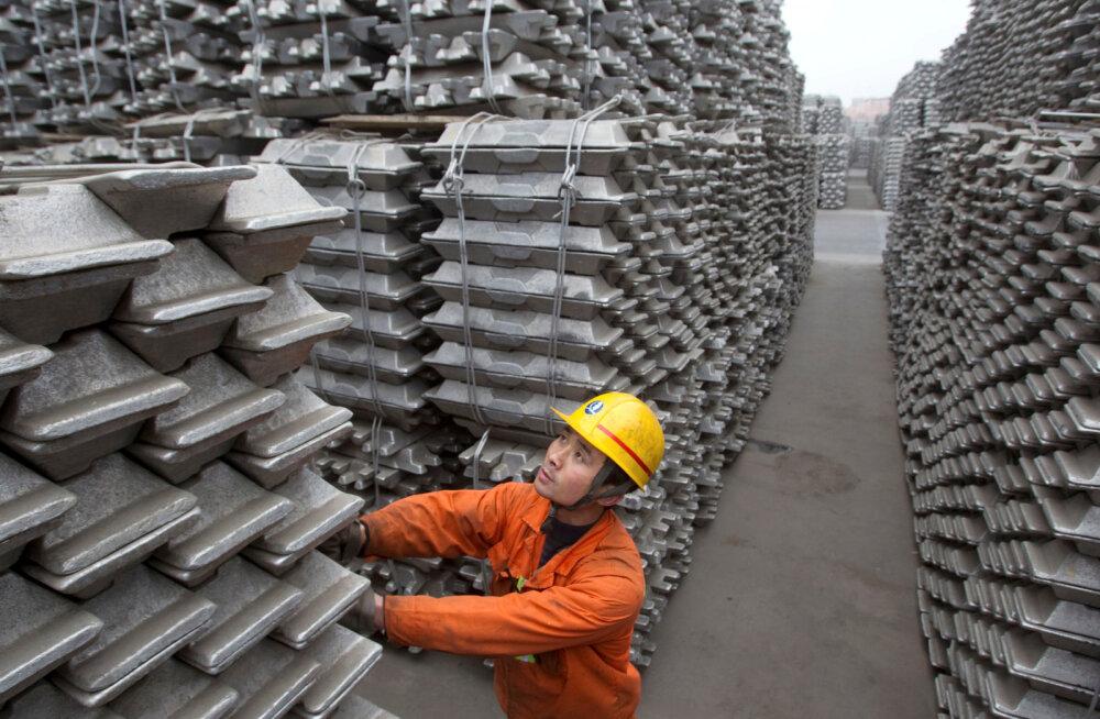 LHV analüütik: metallide hinnatõusu taga on Hiina