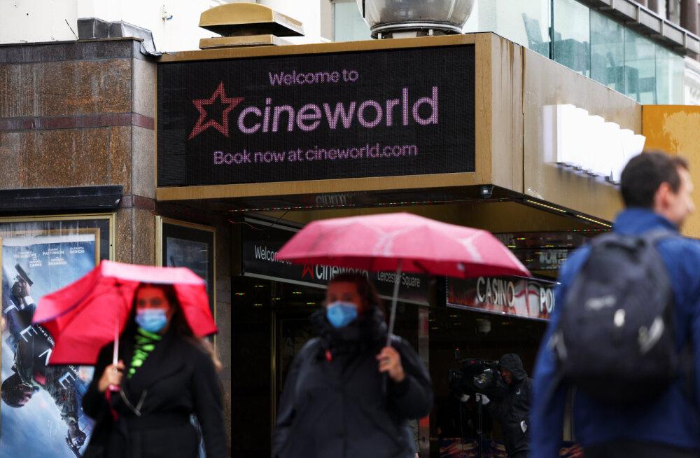 Suur kinokett plaanib kõigi USA ja Ühendkuningriigi kinode sulgemist