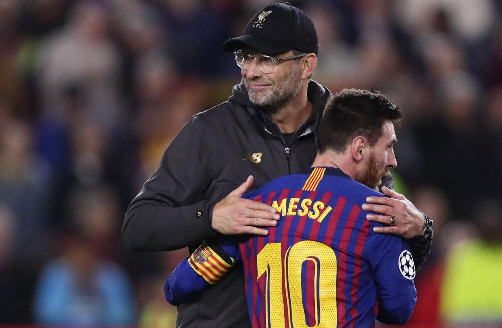 Jürgen Klopp andis vastuse igipõlisele küsimusele: kumb on parem, kas Messi või Ronaldo?