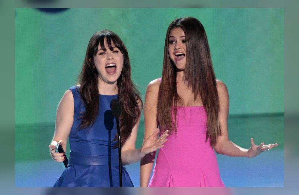 FOTOD: Punase vaiba galerii: Teen Choice Award valis parimad noored lauljad ja näitlejad