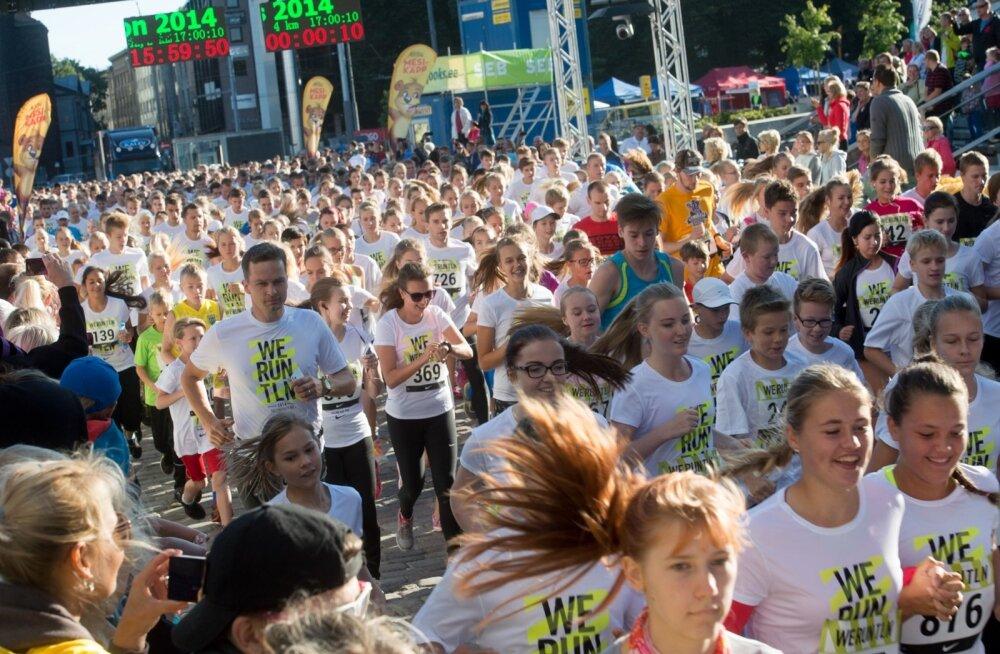 SEB Tallinna Maratoni avamine ja noortejooks