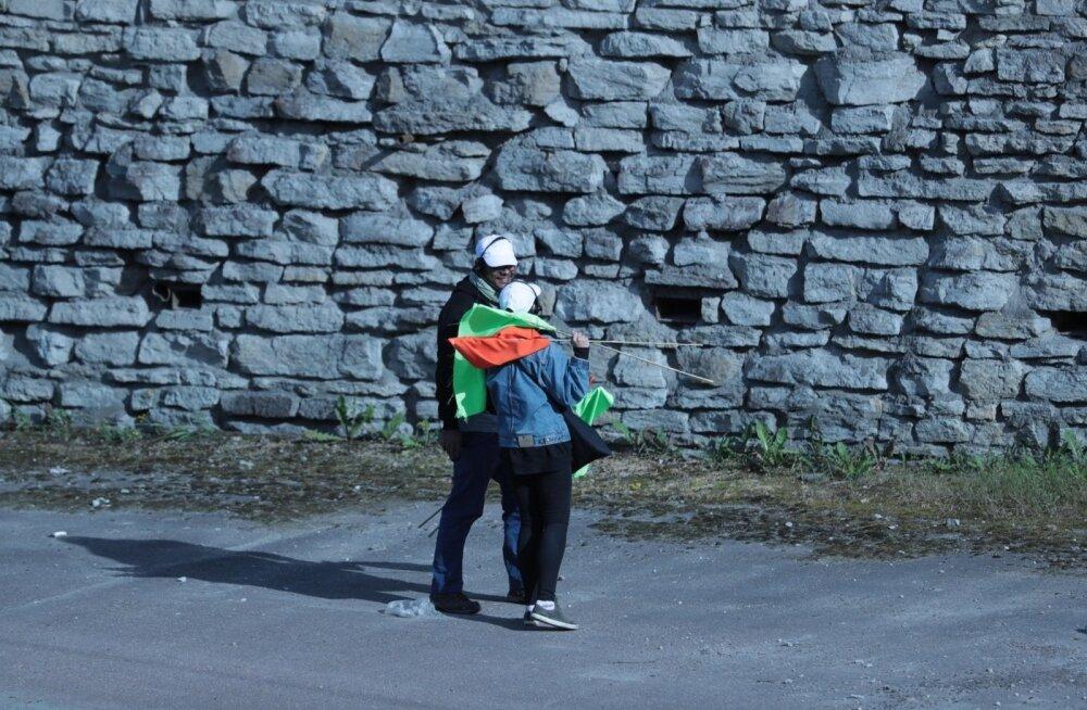 ФОТО: Подготовка к съемкам фильма на Лаагна теэ идет полным ходом