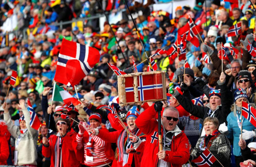 BLOGI | Laskesuusatamise MM-i avapauk: Norra alustas võidukalt, Eesti jäi esikümnest kaugele