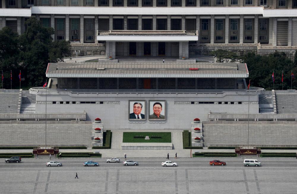 Põhja-Korea palub oma elanikel kodudes püsida, hoiatades koroonaviirust levitava tolmu eest