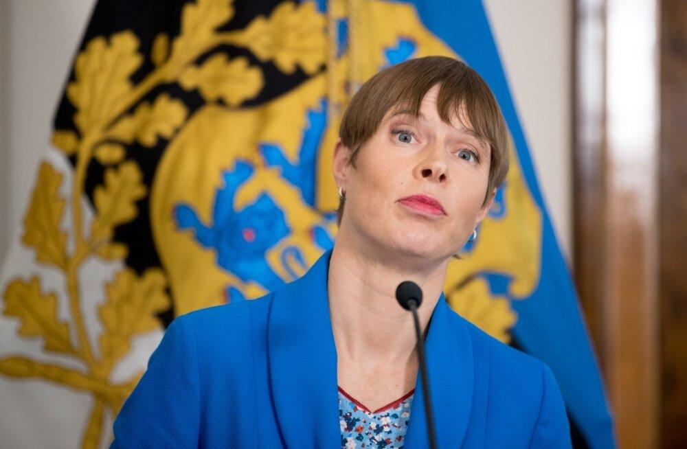 Kaljulaid Foreign Policyle: ma vihkan EKRE-t nende käitumise eest