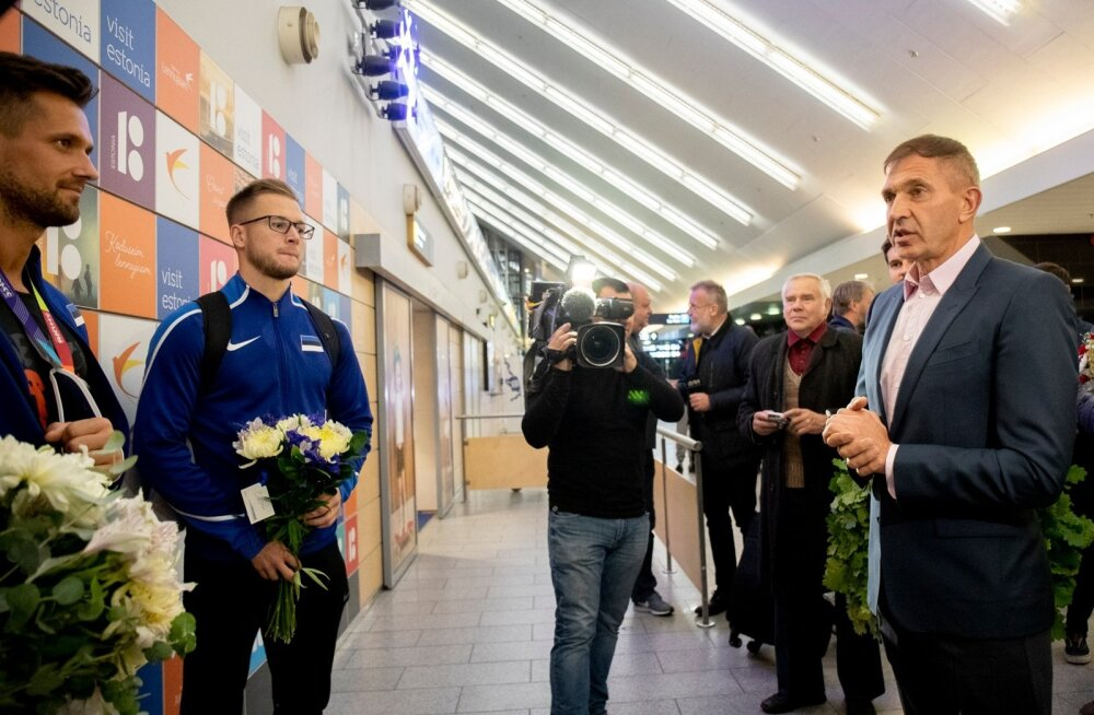 Magnus Kirt saabus Doha MM-ilt