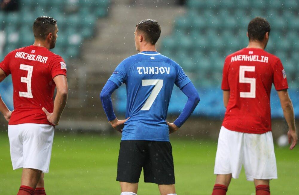 Тренер сборной Грузии выделил двух эстонских игроков: у них светлое будущее