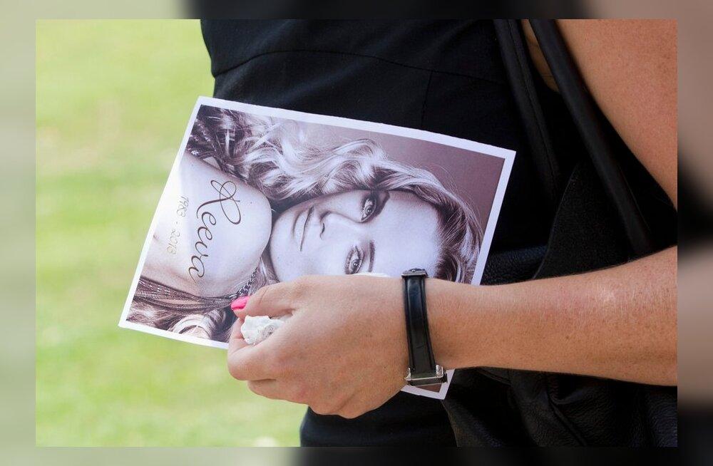 Reeva Steenkampi matused