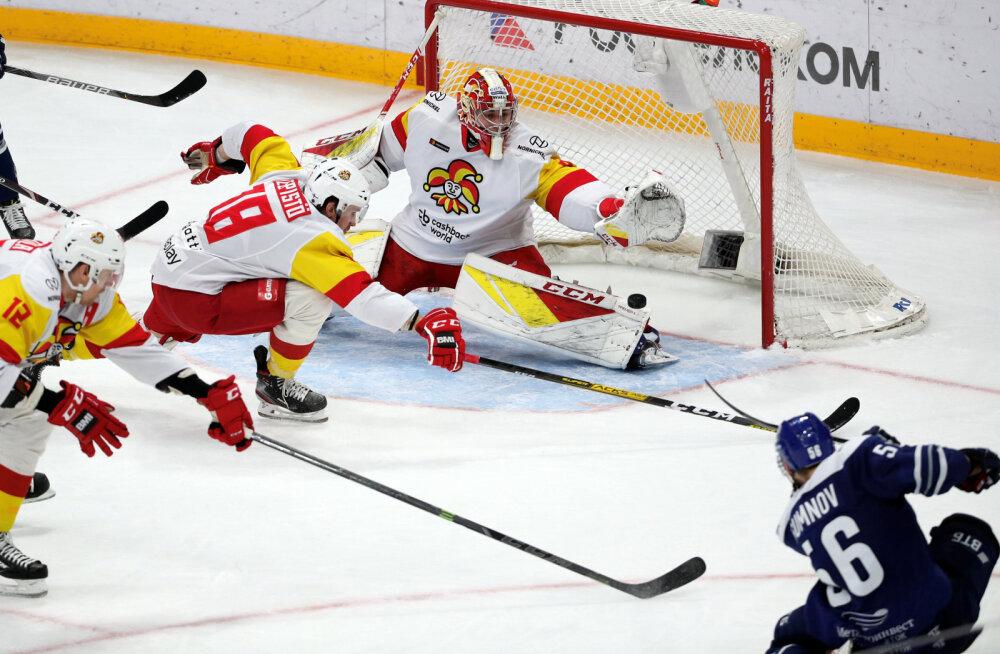 KHL TALLINNAS | Tõeline põnevuskohtumine! Helsingi Jokerit pidid kaheksaväravalise trilleri järel karistusvisetega lähikonkurendi paremust tunnistama