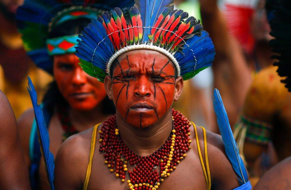 ФОТО | Как живут племена коренных индейцев в Бразилии