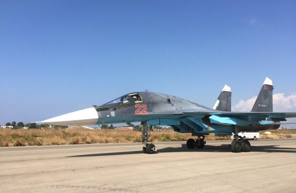 Su-34: Venemaa uusim sõjalennuk teeb Süürias lahingudebüüti