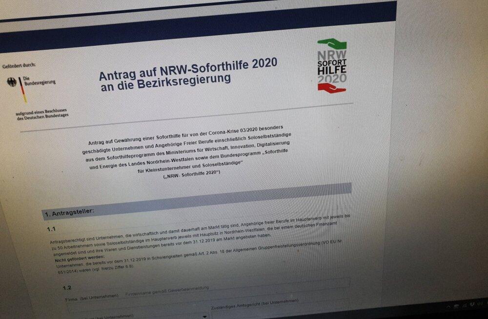 Miljonid tuulde! Saksa liidumaal koroonatoetus-raha saanute seas oli hulk küberpetiseid