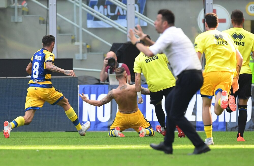 Federico Dimarco on löönud Parma võiduvärava