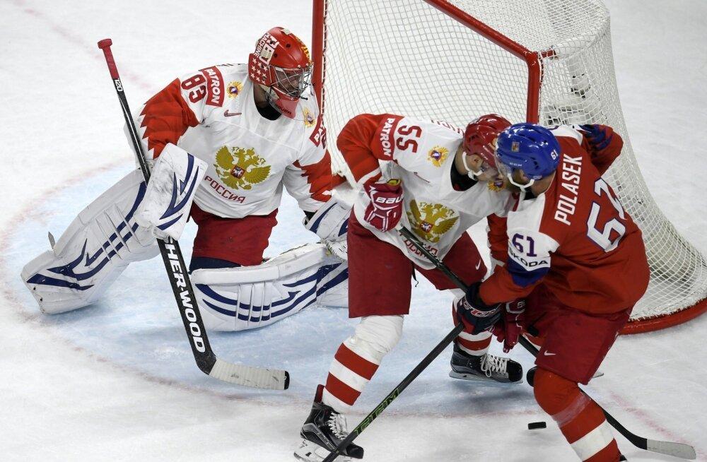 Jäähoki MM, kohtumine Venemaa - Tšehhi