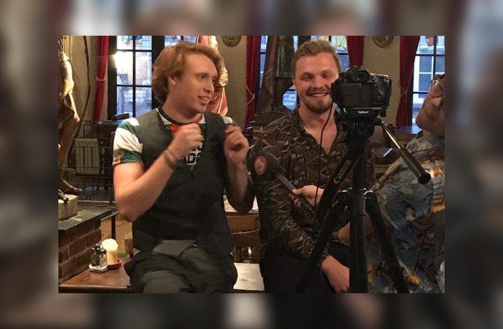 KUULA | Superstaarisaate Karl Mihkel Salong, Mikk Mäe ja Aleks Smitt tegid Belgias uue hiti!