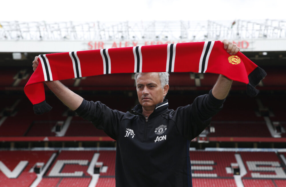 Jose Mourinho Old Traffordil