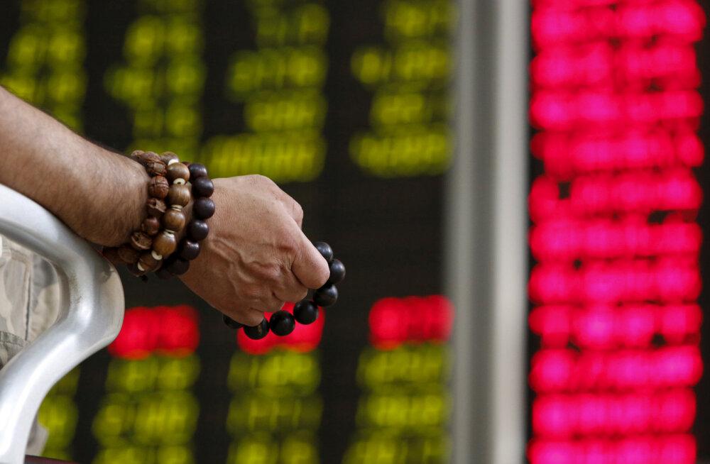 Euroopa aktsiad langesid USA-Hiina kaubandussõja tõttu