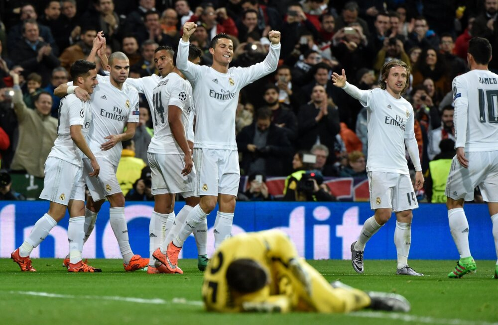 Ronaldo juubeldab
