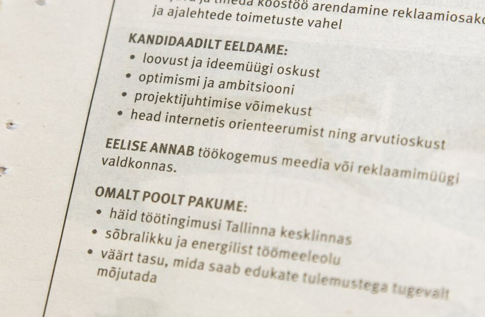 Lätis muudeti töökuulutustel palgavahemiku märkimine kohustuslikuks