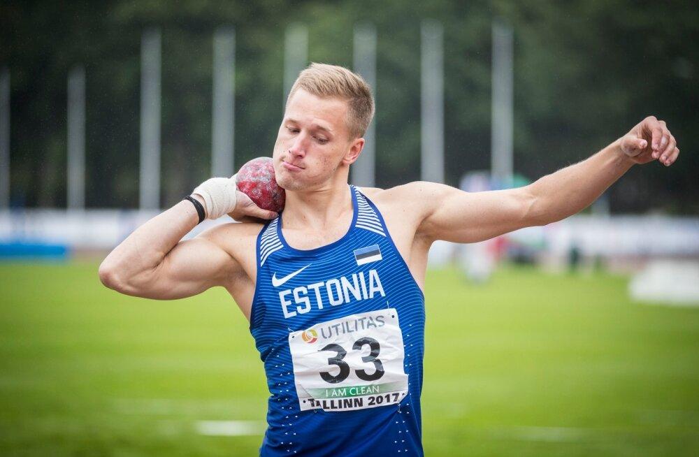 2017. aasta kümnevõistlus võistkondlikud Euroopa meistrivõistluste esimene päev Kadrioru staadionil