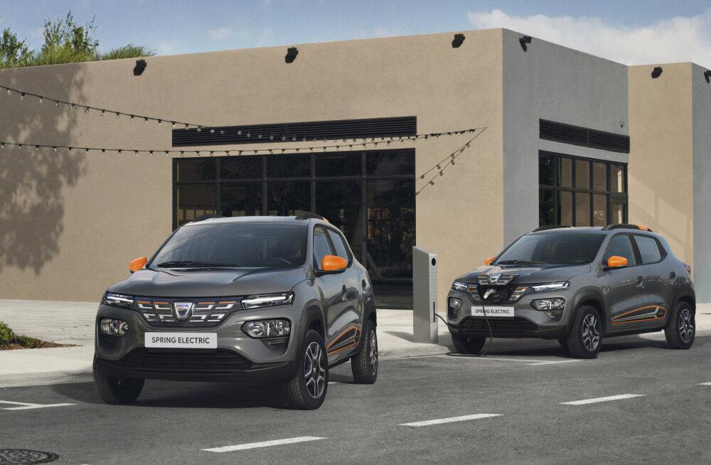 Dacia tutvustab Euroopa odavaimat elektriautot