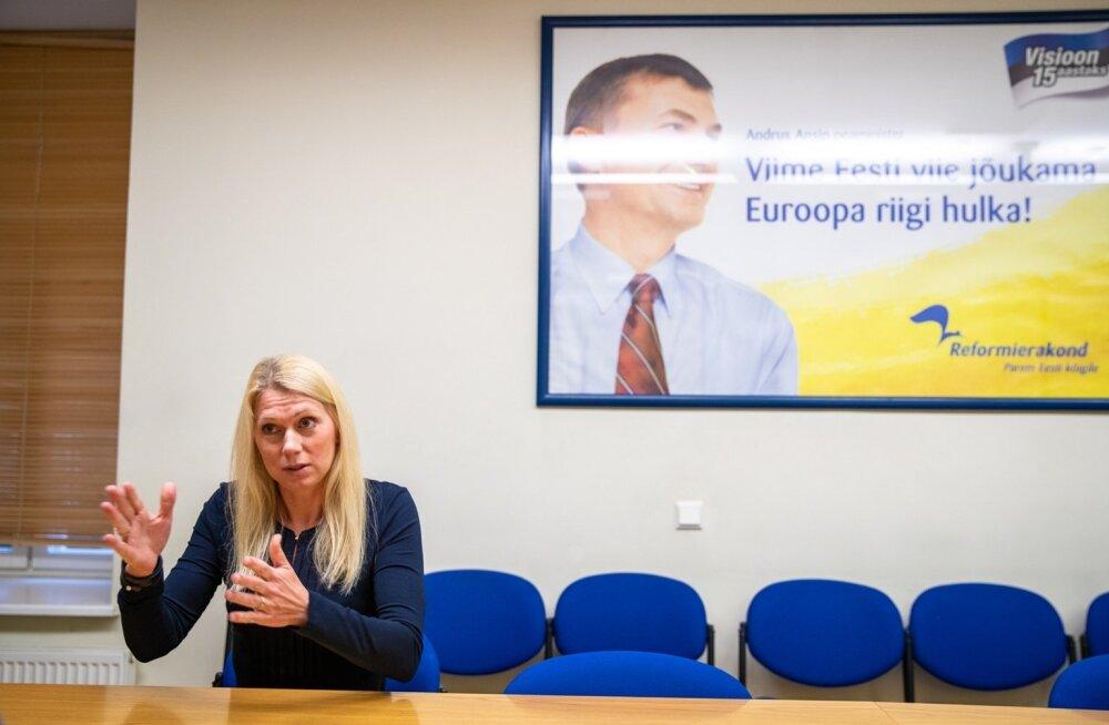 Kristina Šmigun-Vähi kinnitab, et Eestis on sport puhas.