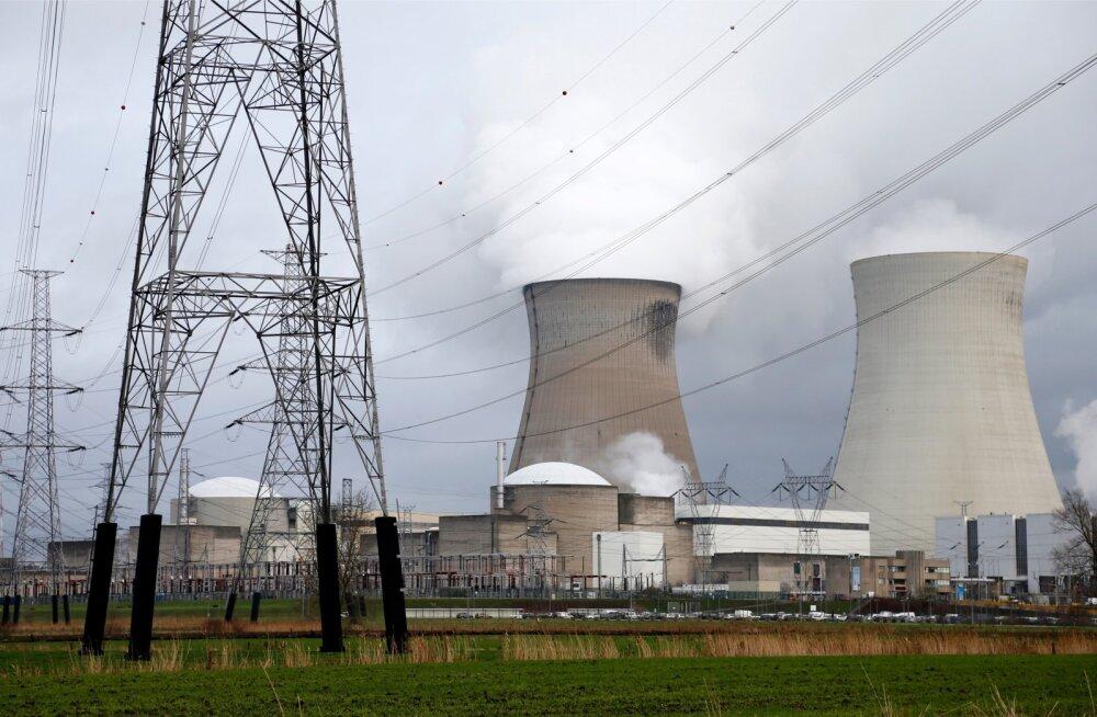 Tuumaelektrijaam Belgias. Pilt on illustreeriv.