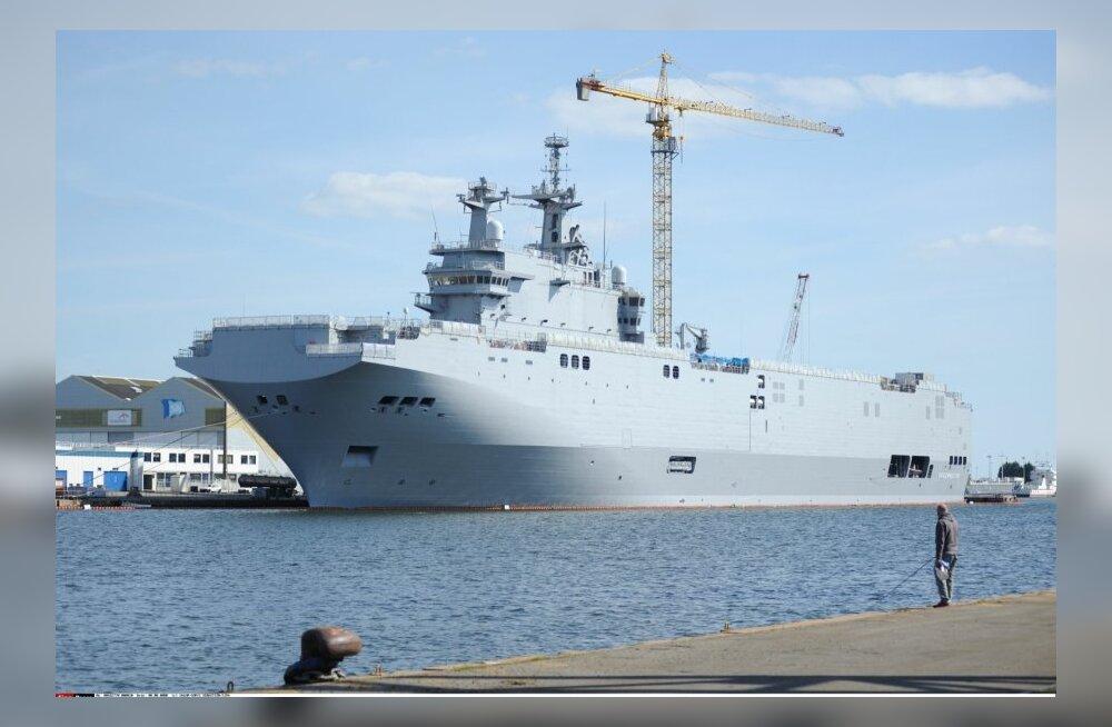 USA kongresmenid: NATO võiks Prantsusmaalt Venemaale mõeldud sõjalaevad ära osta