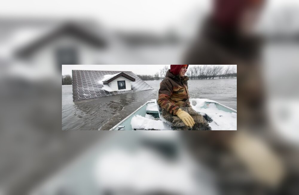 VIDEO: jõevood neelasid USA linna