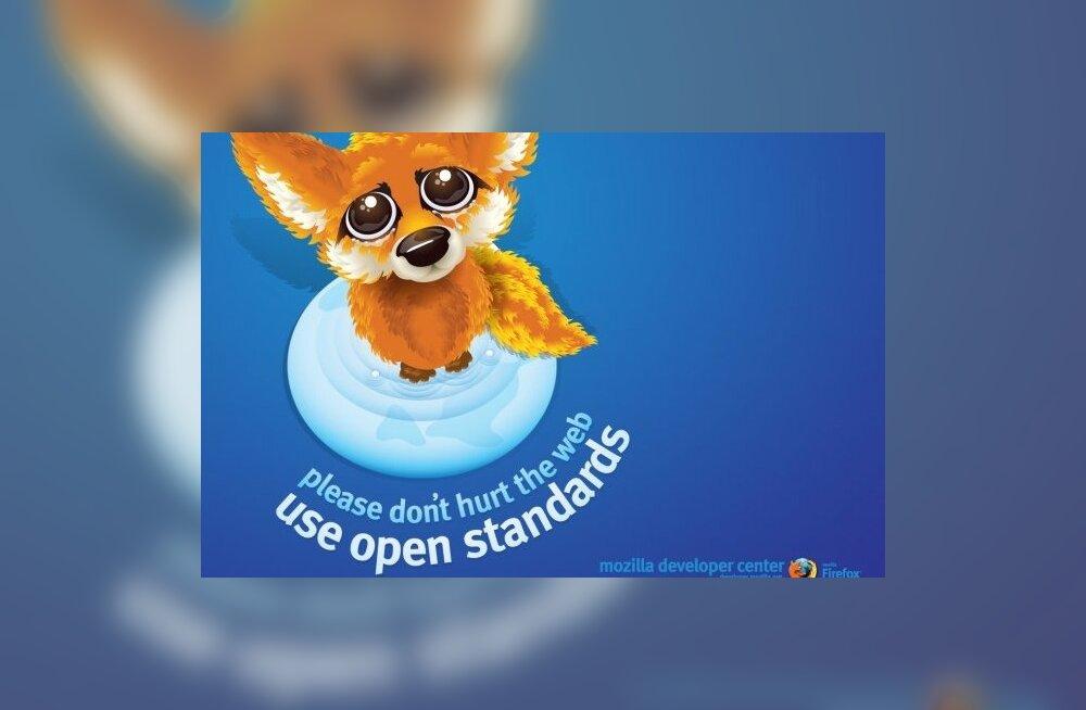 Karm otsus: Veebisirvik Firefox võtab saitidelt ikoonid ära