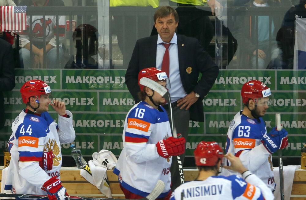 Putini sõber otsustas: Venemaa hokikoondise treener saab karistada
