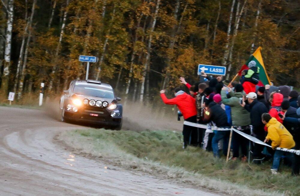 Tänak ja Gross Saaremaa rallil
