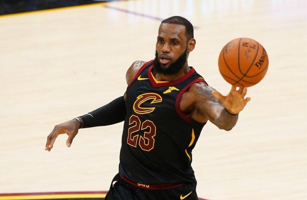 LeBron Jamesi mängud Cleveland Cavaliersis on suure tõenäosusega mängitud.