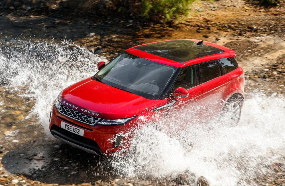 Range Rover Evoque kui kulisside tagune revolutsioon