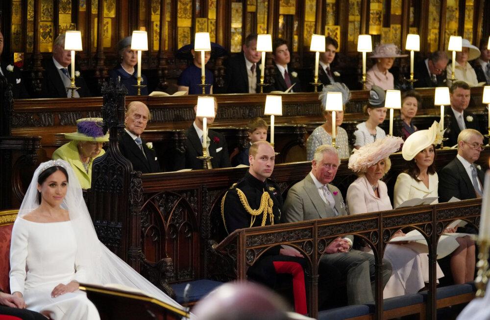 FOTO | Kas märkasid tühja tooli kuninglikus pulmas? See ei olnud printsess Dianale!