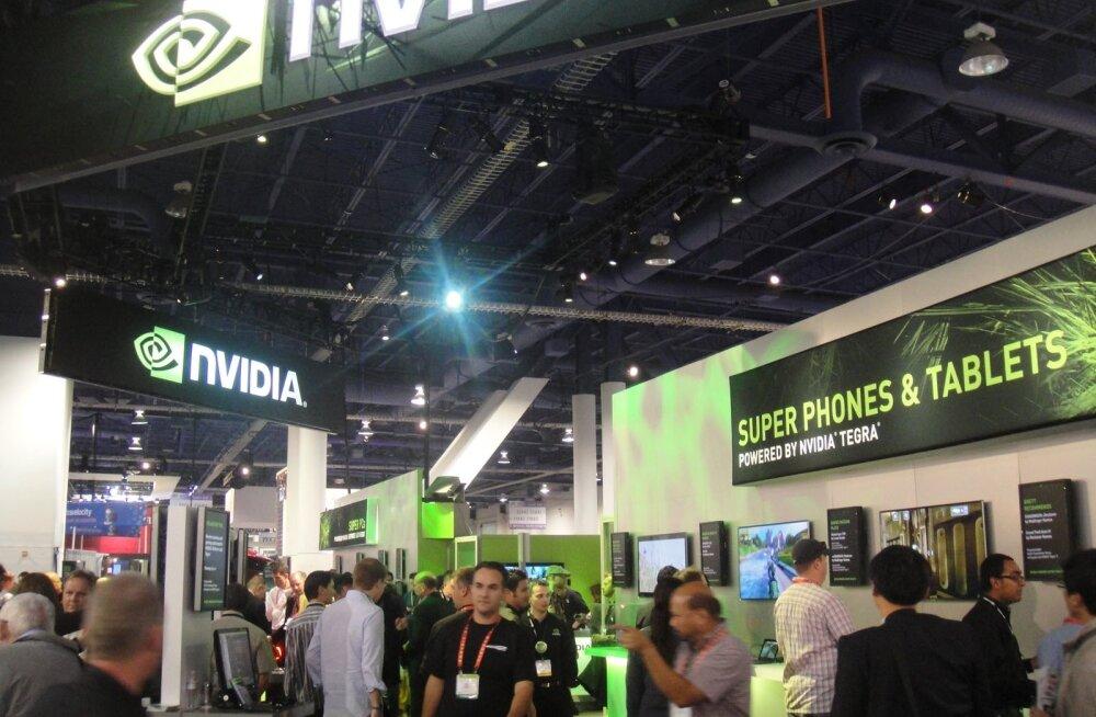 Nvidia väljapanek CES 2012