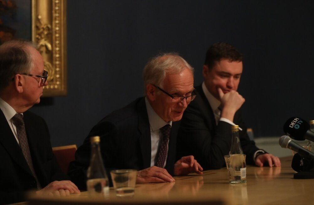 FOTOD ja VIDEO: Riigikogu valis Taavi Rõivase ja Enn Eesmaa riigikogu aseesimeesteks