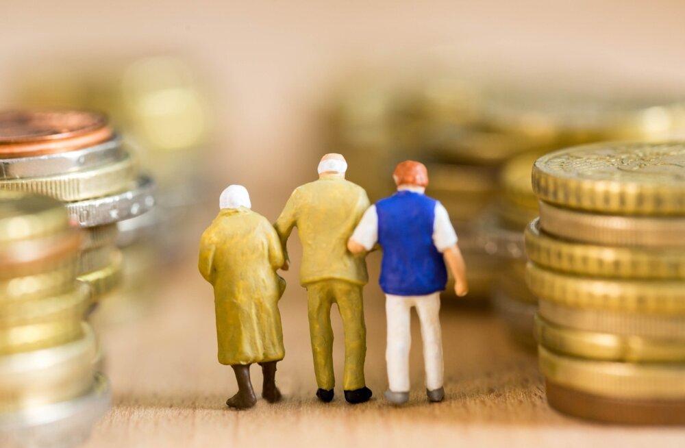 Liiga suur pension jättis umbes 16700 inimest üksiku pensionäri toetusest ilma