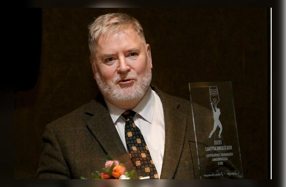 Kultuurkapitali kirjanduse sihtkapitali 2012. aasta auhindade kätteandmine