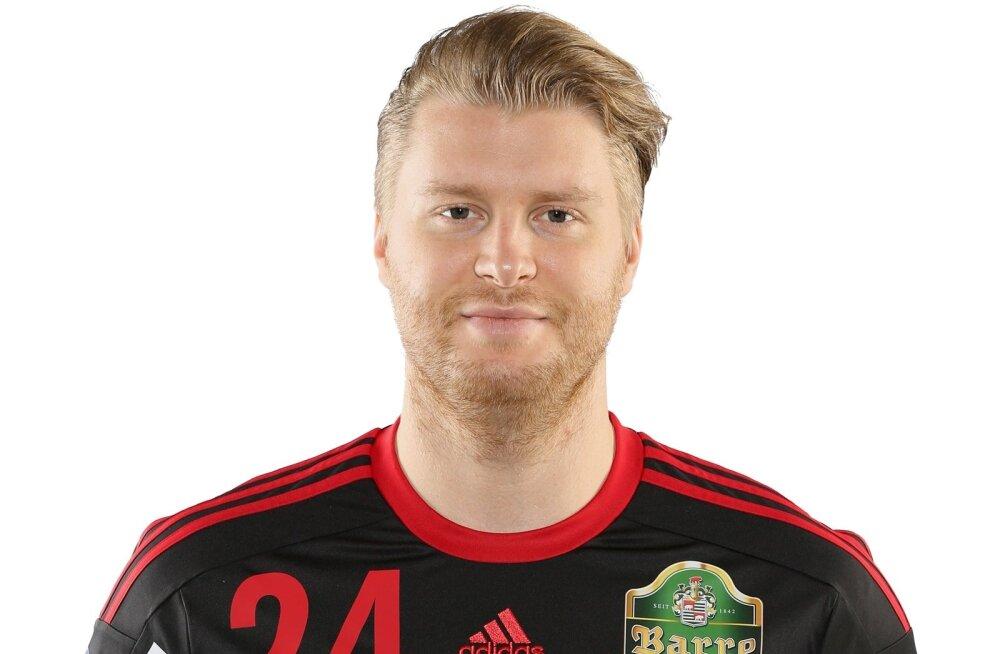 Bundesliga klubi TuS N-Lübbecke mängija Dener Jaanimaa