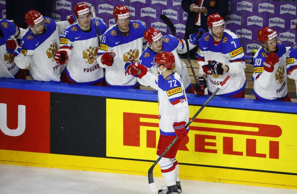Venemaa jäähokimängijad
