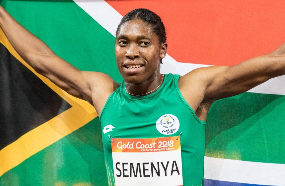 IAAF sunnib Caster Semenyat tablette mugima, naine mõtleb alavahetusele