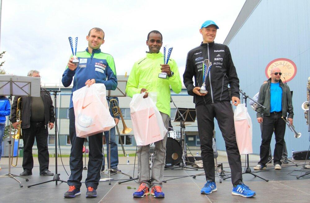 Tartu Kevadjooksu võitsid Ibrahim Mukunga Wachira ja Jelena Sedova