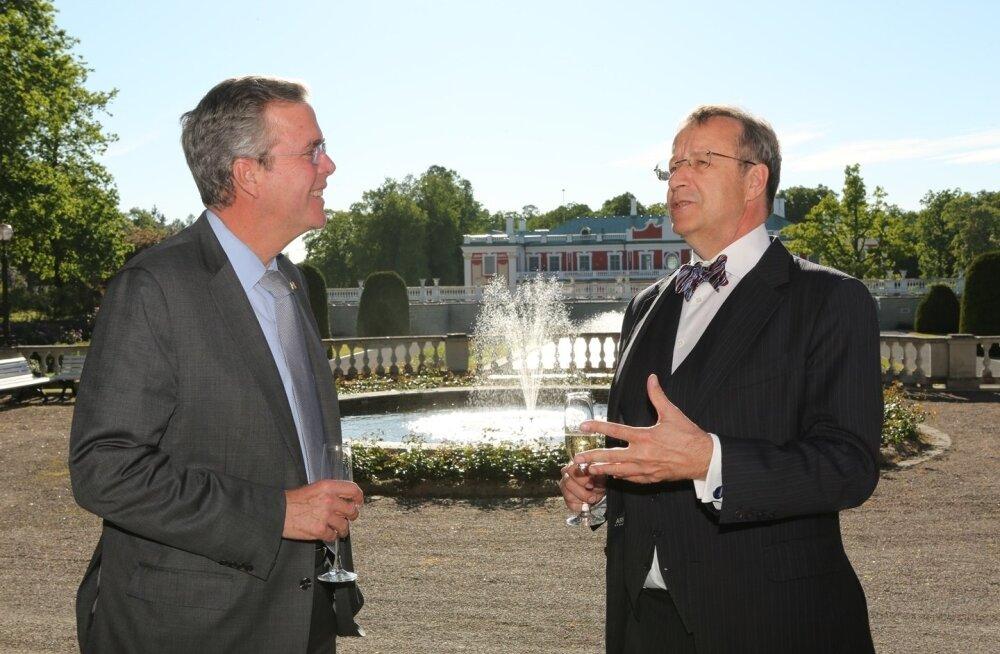 Toomas Hendrik Ilves ja Jeb Bush
