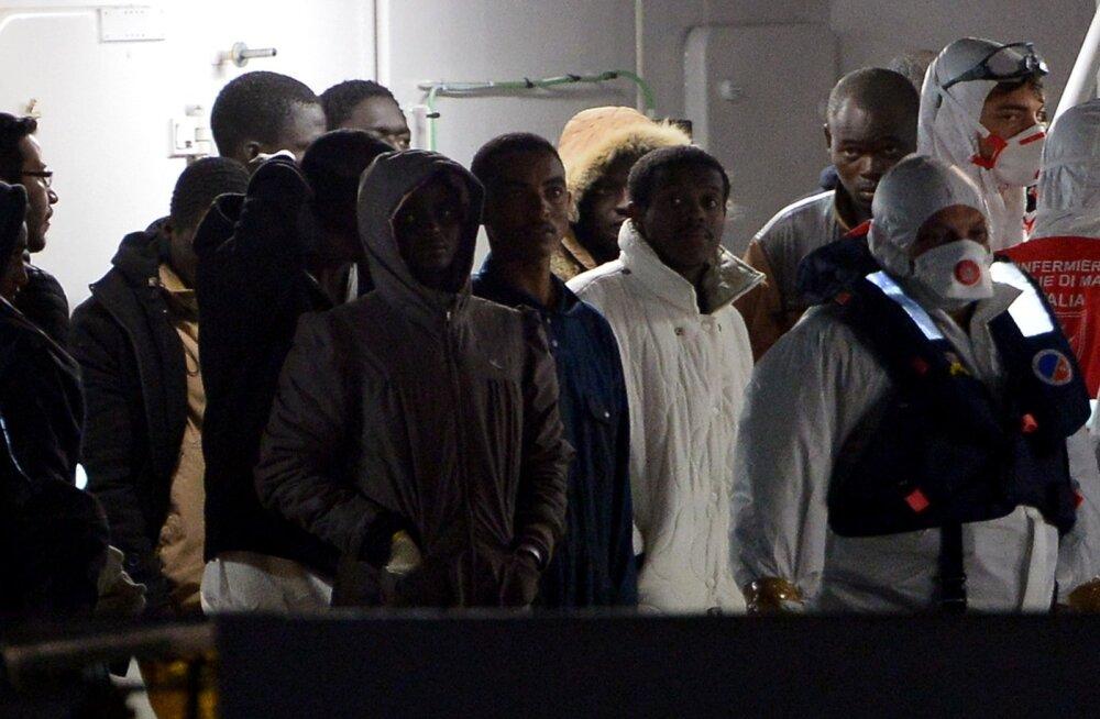 ÜRO andmetel hukkus migrandilaeva uppumise tagajärjel Vahemerel 800 inimest