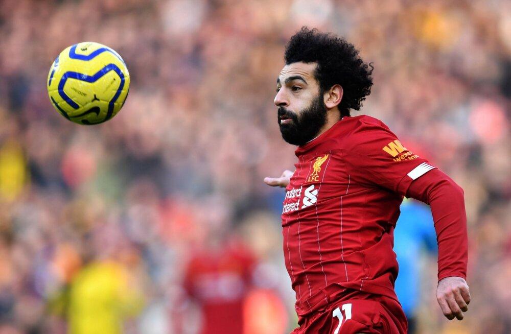 Mohamed Salah vedas Liverpooli järjekordsele võidule